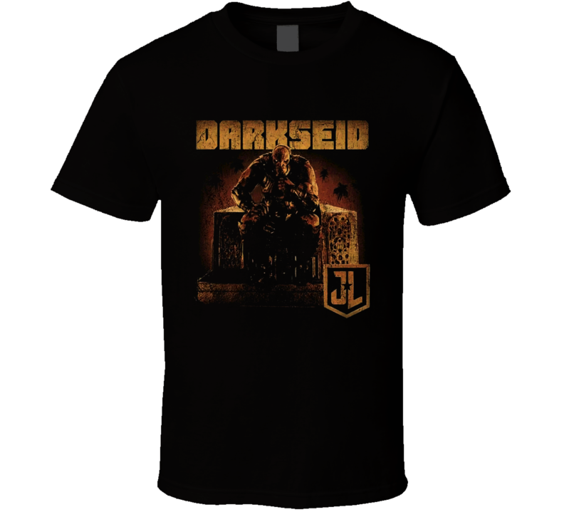 Snyder Cut Justice League Movie Darkseid Poster T shirt