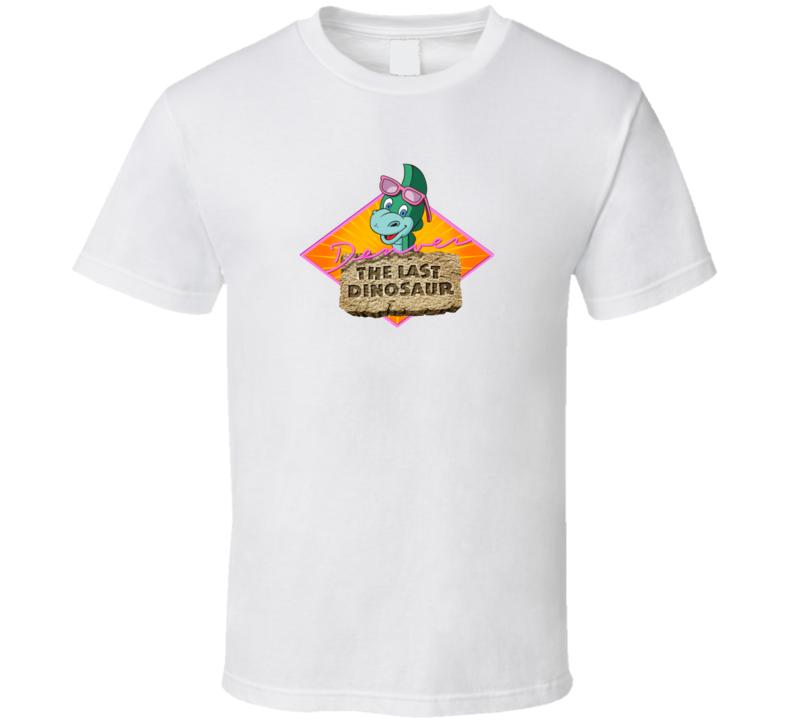 Denver The Last Dinosaur Fan Tv Show 80s Cartoon Animated Essential Logo Gift T Shirt
