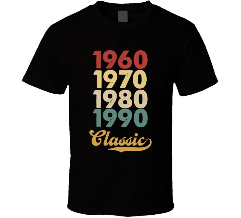 1960 Classic T Shirt