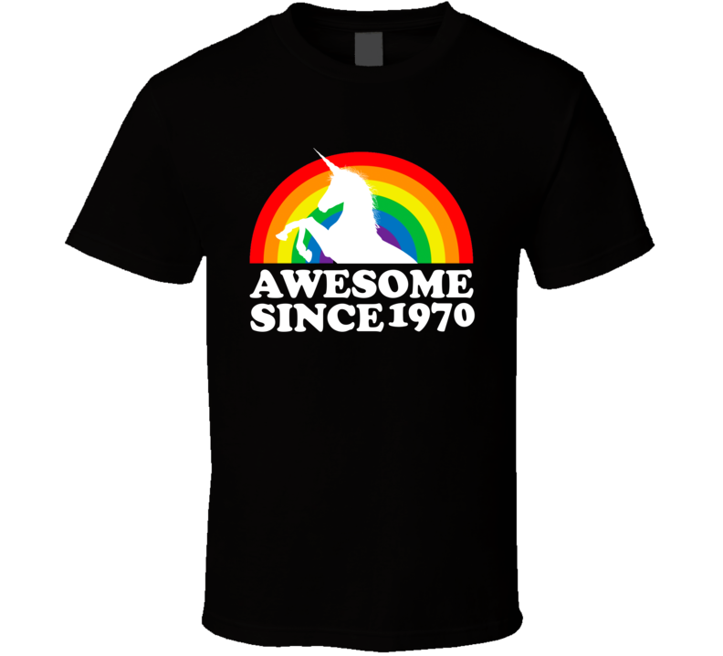 Awesome Since 1970 T Shirt
