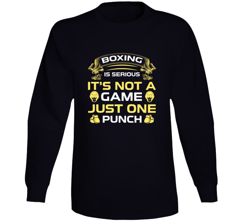Boxing Is Serious Long Sleeve