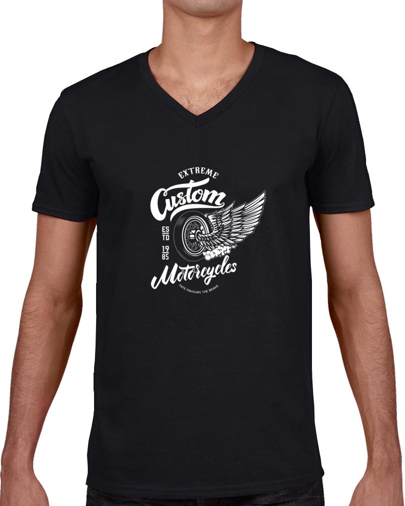 Custom Motorcycles T Shirt