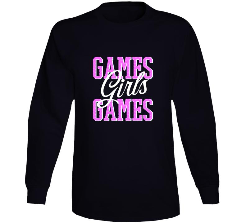 Games Girls Games Long Sleeve