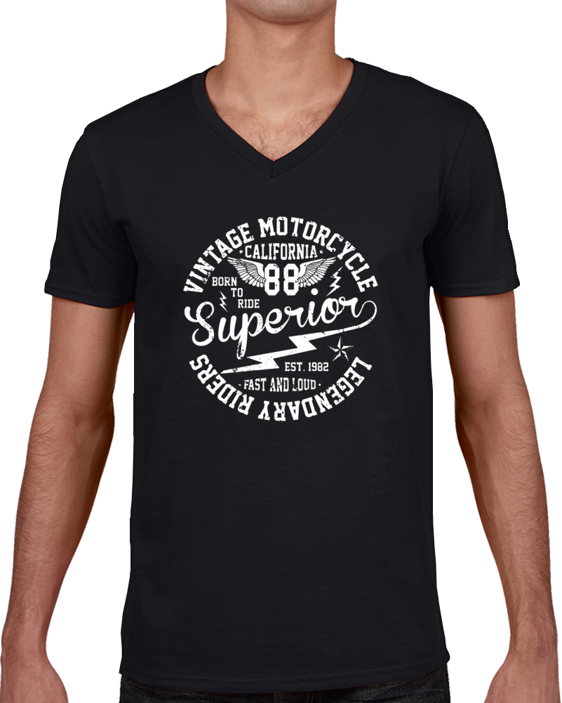 Vintage Motor Cycle Superior T Shirt
