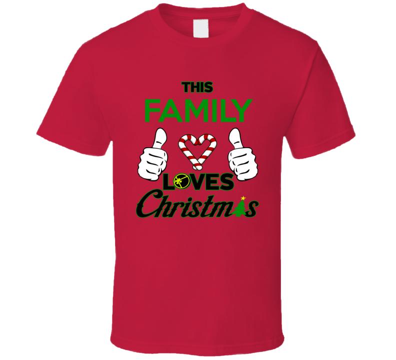 This Family Loves Christmas T Shirt