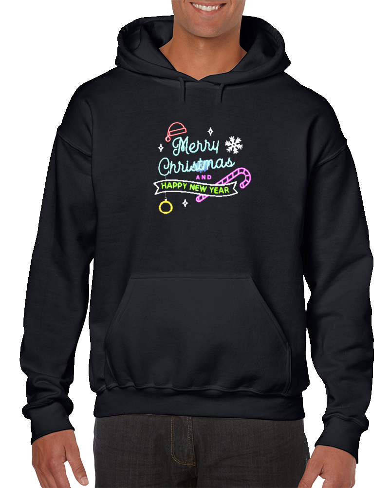 Merry Christmas And Happy New Year  Hoodie