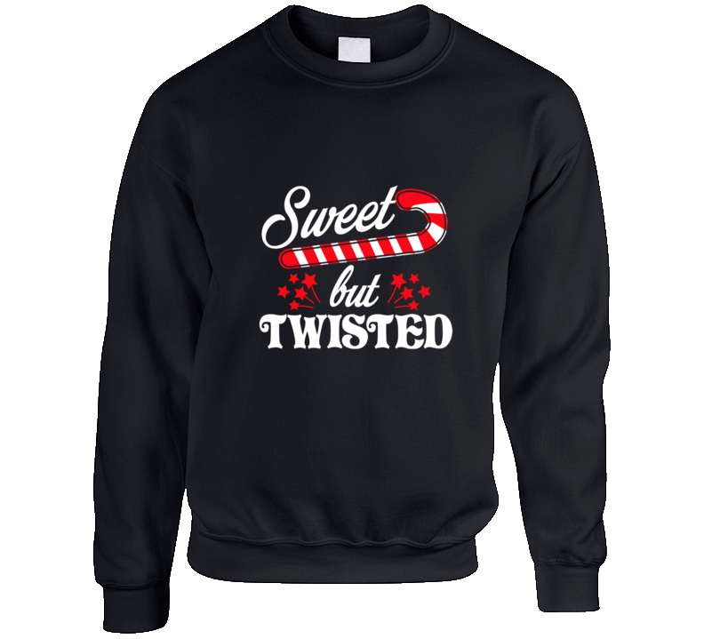 Sweet But Twisted Crewneck Sweatshirt