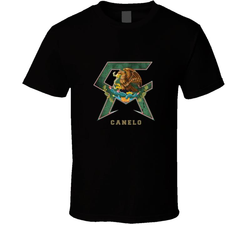 Canelo Alvarez Green Logo T Shirt