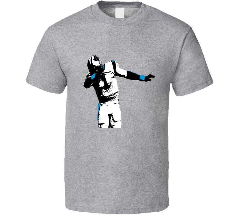 Cam Newton NFL Dabbing Dab Sports Funny Carolina Panthers T Shirt