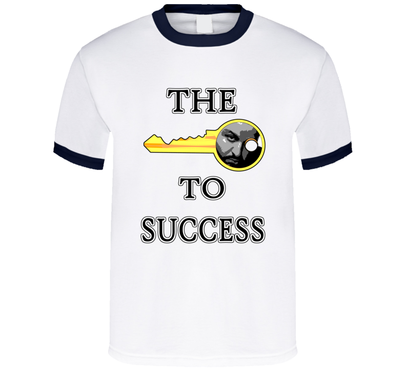 DJ Khaled Key To Success Snapchat Story Funny  T Shirt