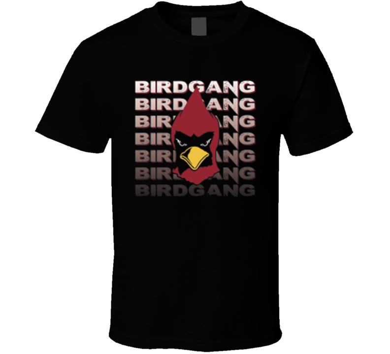 Arizona Cardinals Birdgang Bird Gang Carson Palmer NFL Football T Shirt