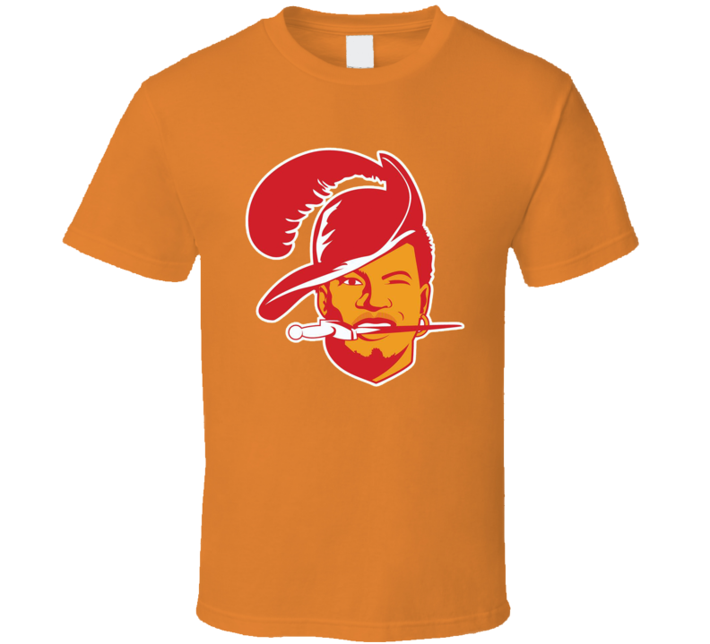 Jameis Winston Tampa Bay Buccaneers Quarterback Old Logo NFL Football T Shirt