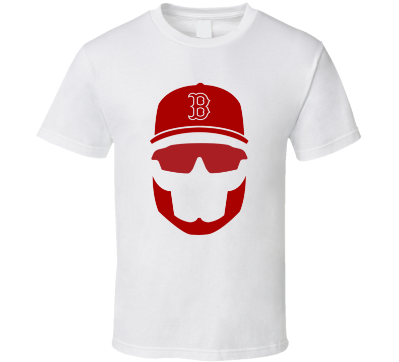 Boston Red Sox David Ortiz Big Papi Retirement Beard Season 2016 MLB Playoffs T Shirt