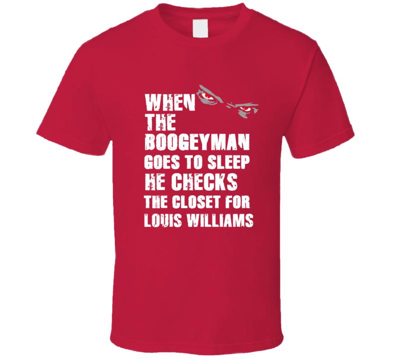 Boogeyman Louis Williams Toronto Basketball Sports Fan T Shirt