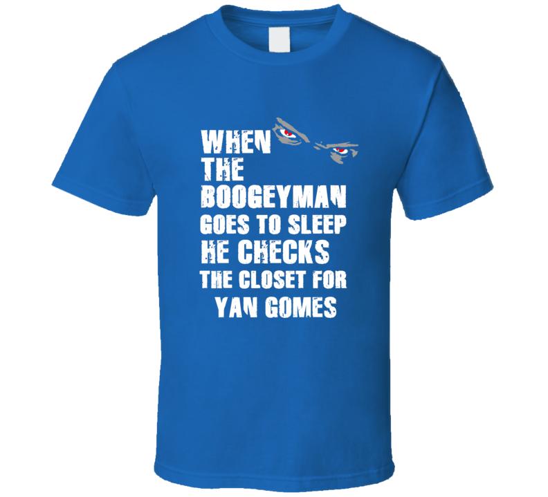 Boogeyman Yan Gomes Toronto Baseball Sports Fan T Shirt