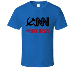 CNN #Fake News T-Shirt Novelty Fake News Media Clothing Fake News Tee Great Gift