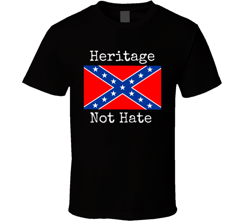 Confederate Flag T-Shirt Unisex Southern Army Novelty Tee