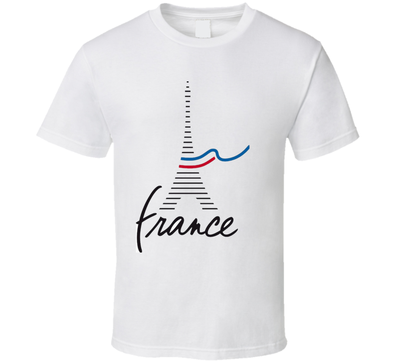 France Je Suis Charlie French Mourning Ribbon Tribute Flag T-Shirt New