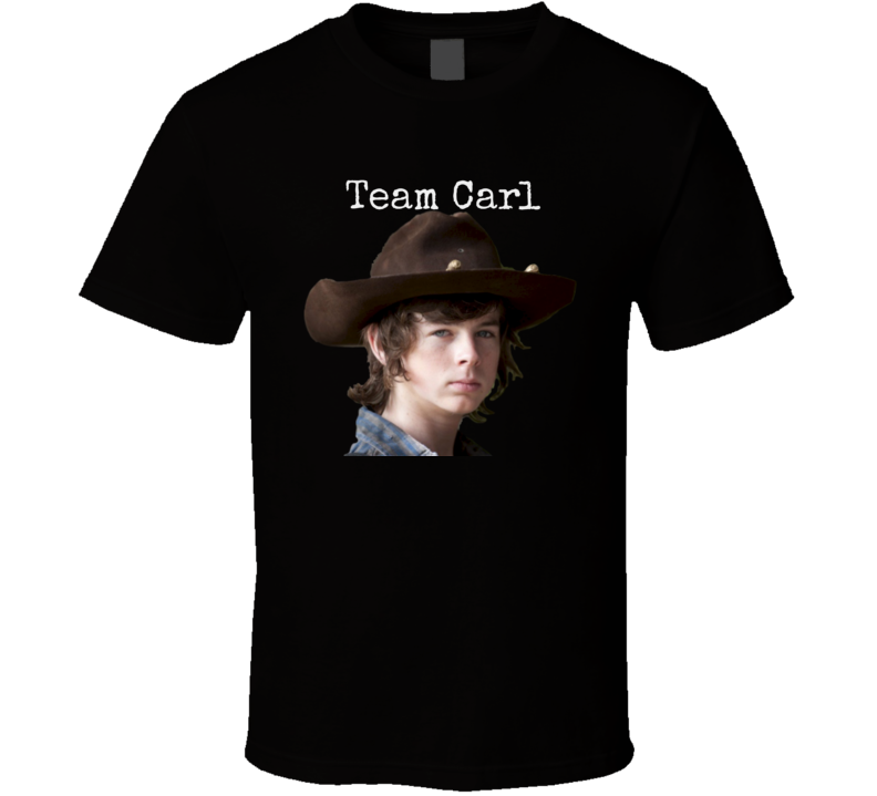 Team Carl Walking Dead T-Shirt Unisex Chandler Riggs Novelty Gift
