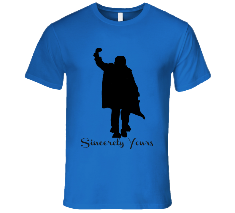 Sincerely Yours Breakfast Club T-Shirt Mens Fitted Novelty Glam Movie Tee Shirt