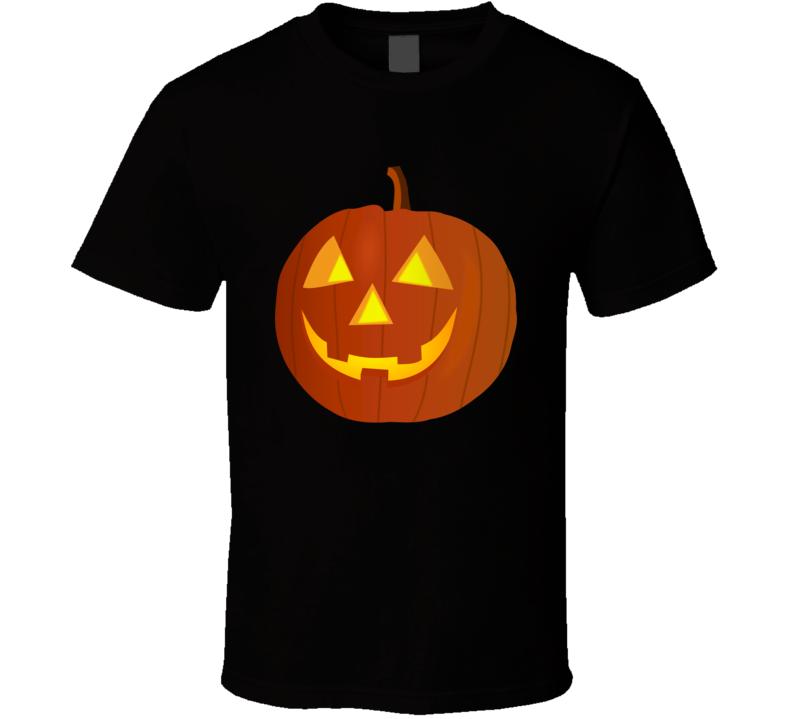 Jack-O-Lantern Halloween Pumpkin Unisex Funny Holiday T-Shirt