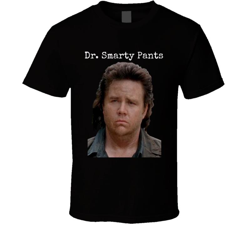 Eugene Dr. Smarty Pants T-Shirt The Walking Dead Novelty Tee