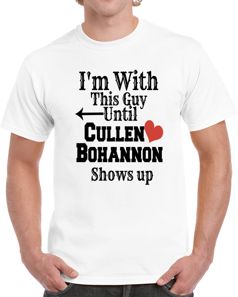Cullen Bohannon I'm With This Guy T Shirt Anson Mount Hell On Wheels Tee