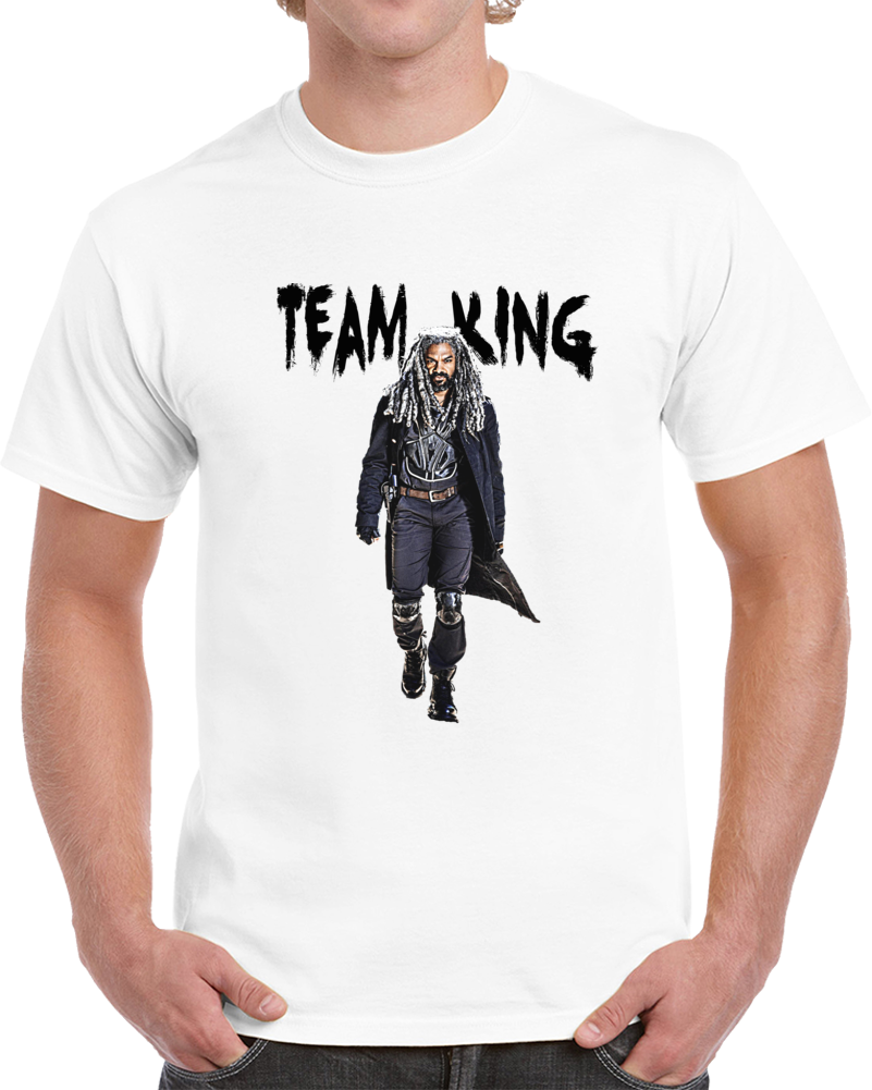 Team King Ezekiel The Walking Dead T-Shirt Khary Payton Amc Tv Zombie Novelty T