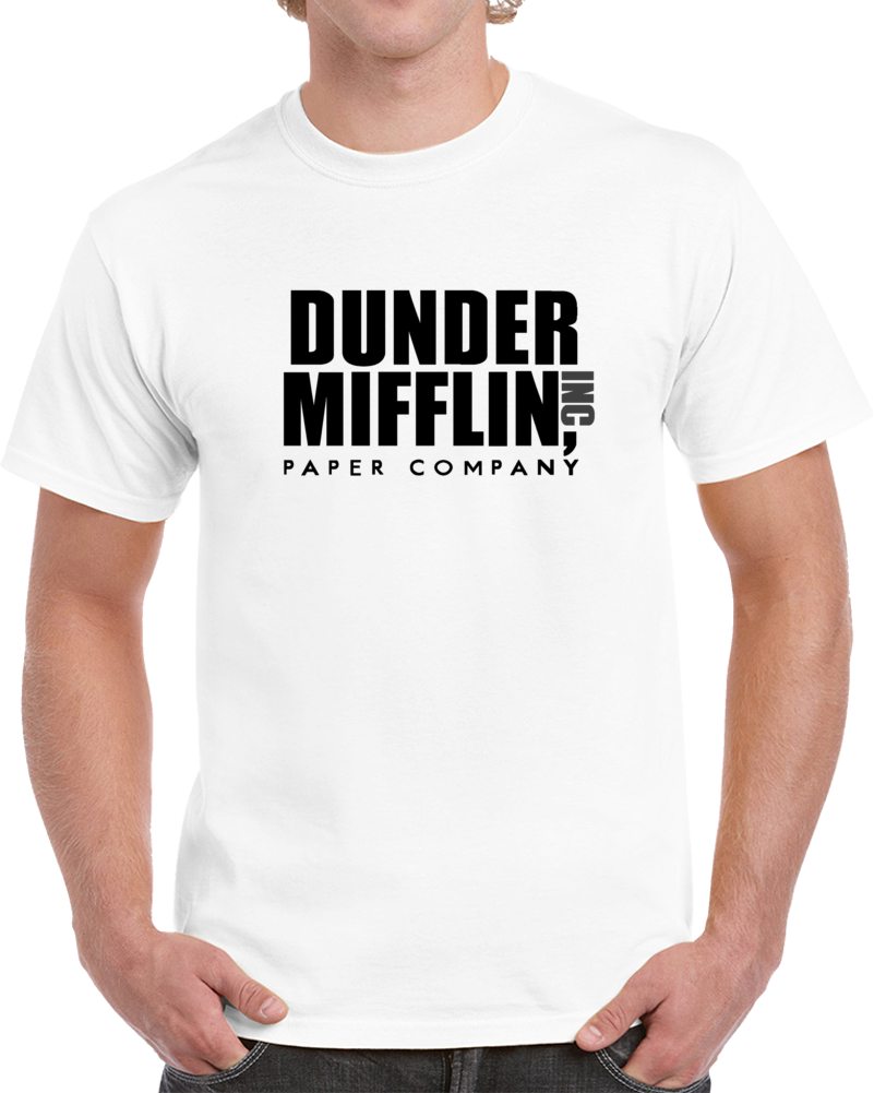 The Office Tv Show Dunder Mifflin Paper Adult Unisex T-Shirt Great Gift For Fans