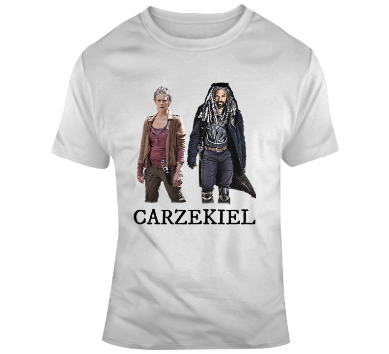 Carzekiel The Walking Dead T-shirt Carol And King Ezekiel Love Affair Amc Tv Tee
