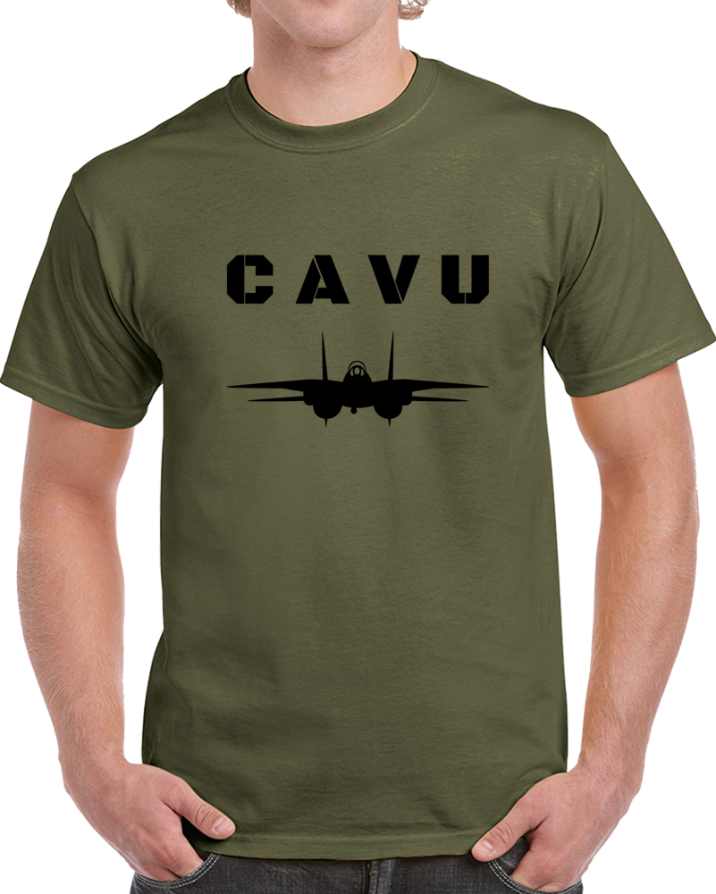 Cavu Fighter Pilot T-Shirt - Ceiling And Visibility Unlimited Military Tee Top