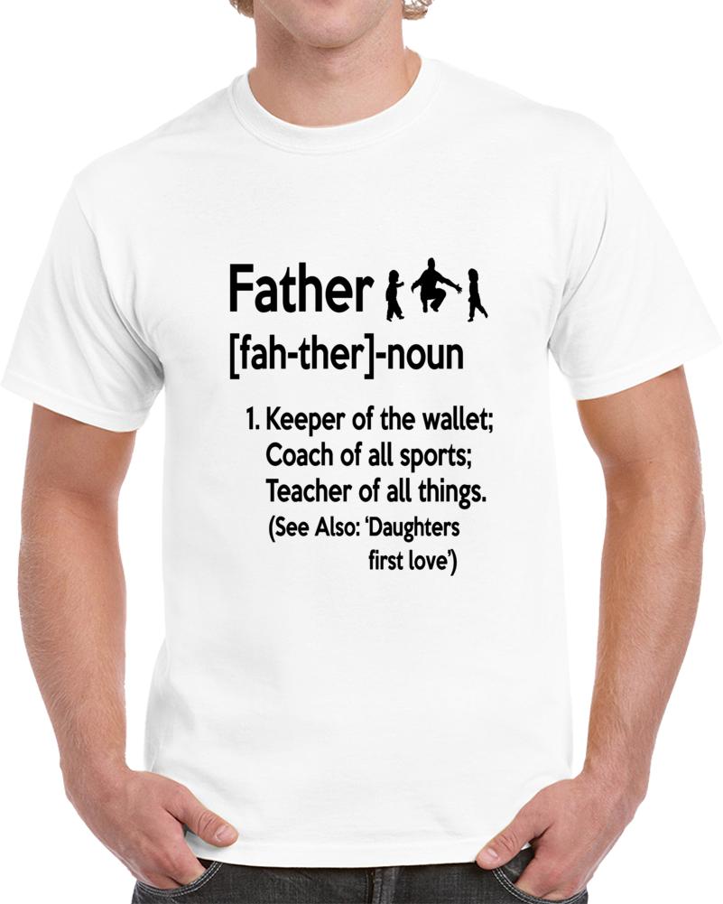 Father Noun Novelty Tee Super Hero Teacher Coach Dad Shirt A Great Gift T Shirt