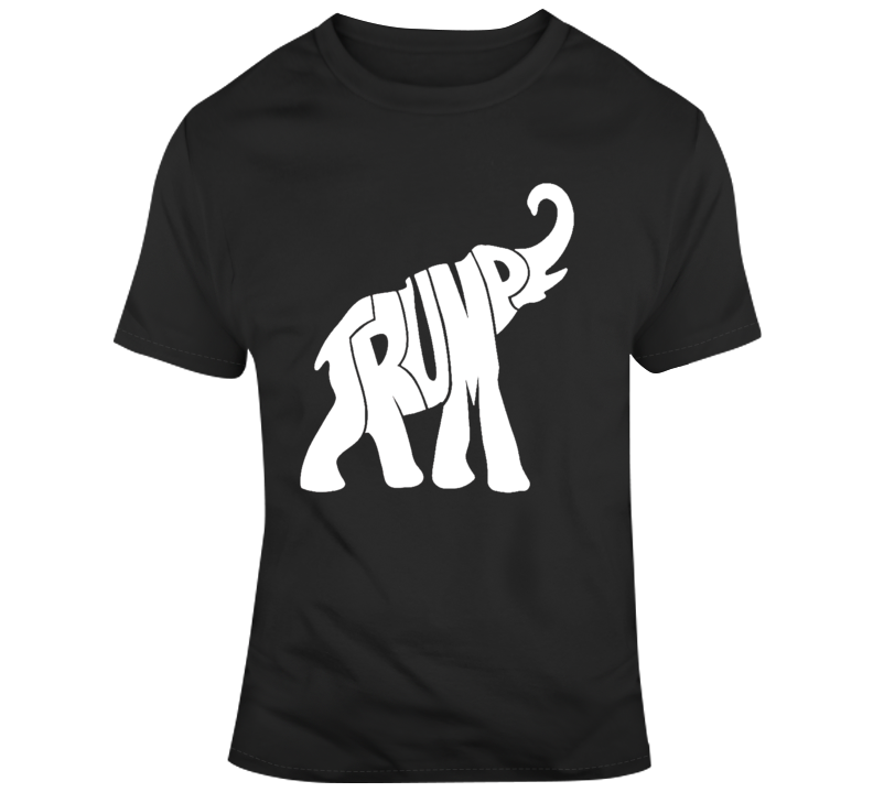 President Trump Shirt The Donald T-Shirt Republican Elephant Political 2020 Maga Tee