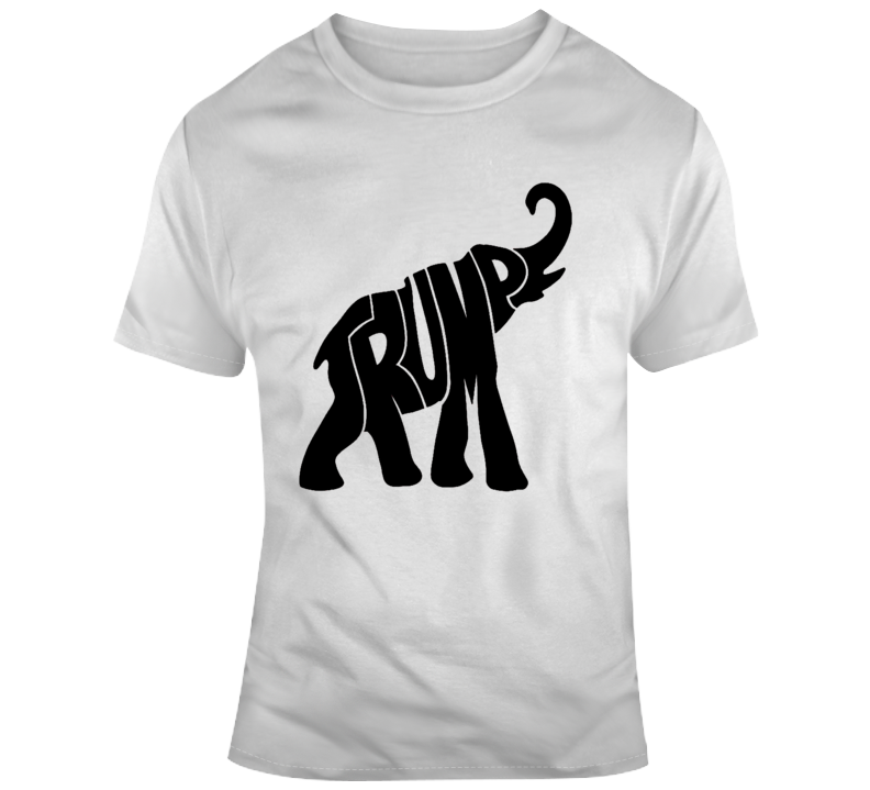 President Trump T Shirt The Donald Tee Republican Elephant Political 2020 Maga T-Shirt