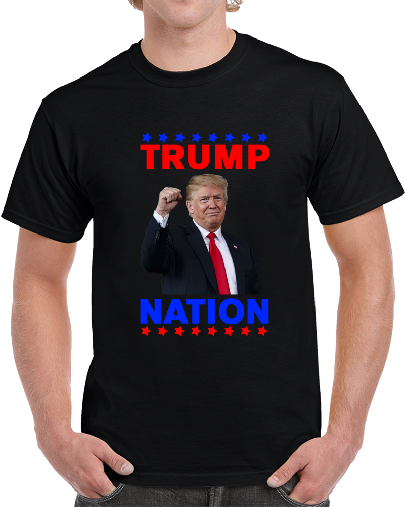 Trump Nation T-Shirt Unisex Novelty Maga Tshirt Keep America Great 2020 Tee Top T Shirt