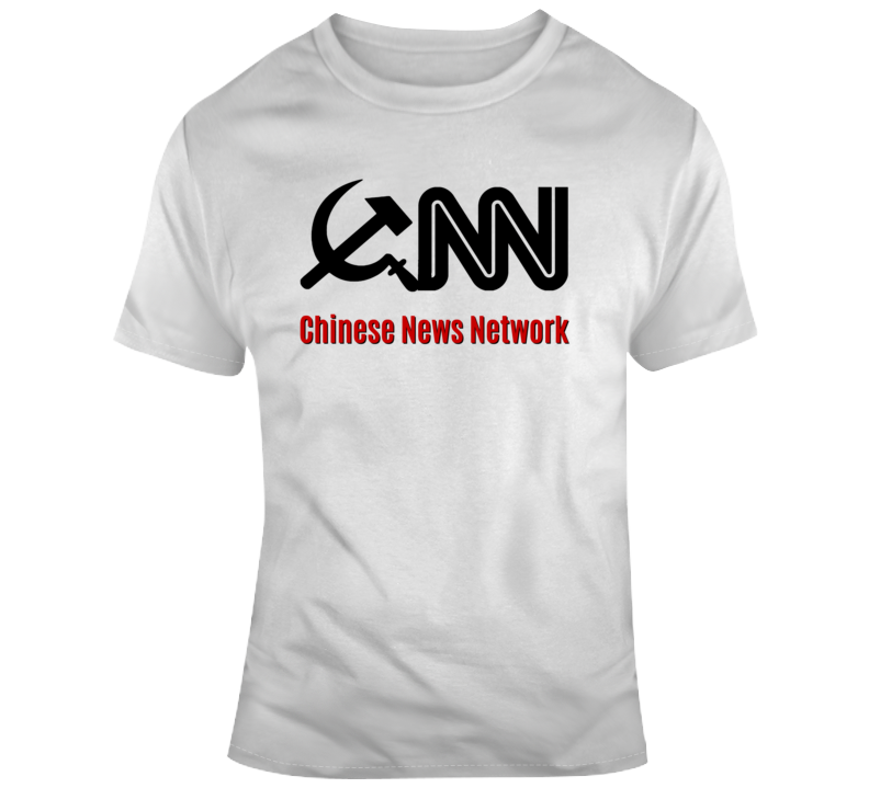Chinese News Network T-Shirt Fake News Media TShirt Is A Cool Novelty Tee Gift T Shirt