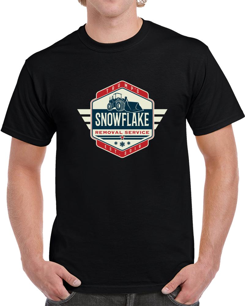 Trump's Snowflake Removal Service T Shirt President Trump Funny  Gift Tee TShirt