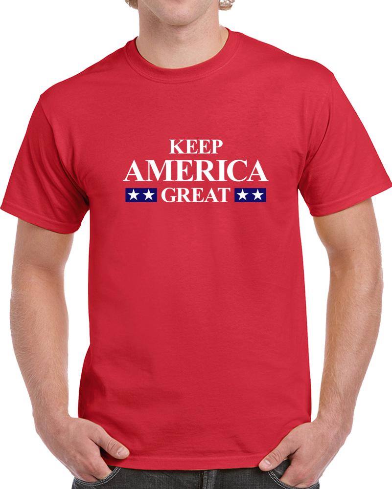 President Trump 2020 Keep America Great T Shirt - Cool Donald Trump Tee Gift TShirt