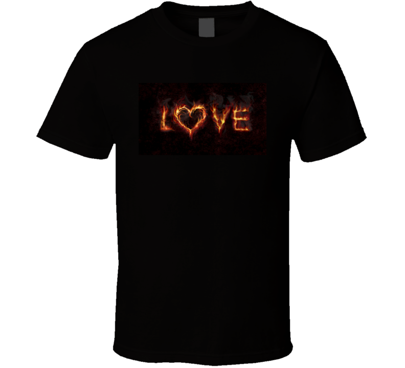 Love T Shirt Novelty Fashion Clothing Gift Tee Top