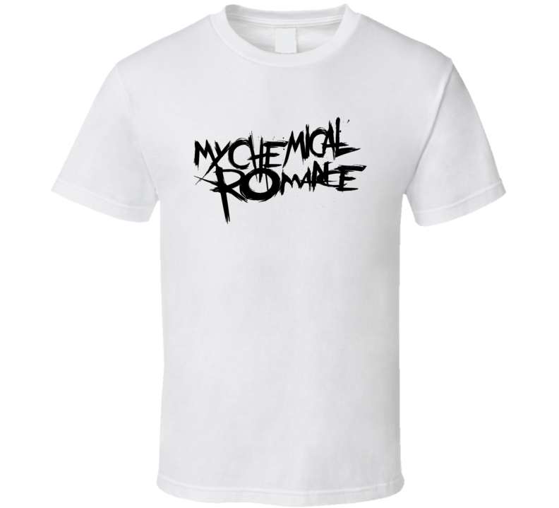 My Chemical Romance Rock Music Band T Shirt MCR Novelty Gift Tee