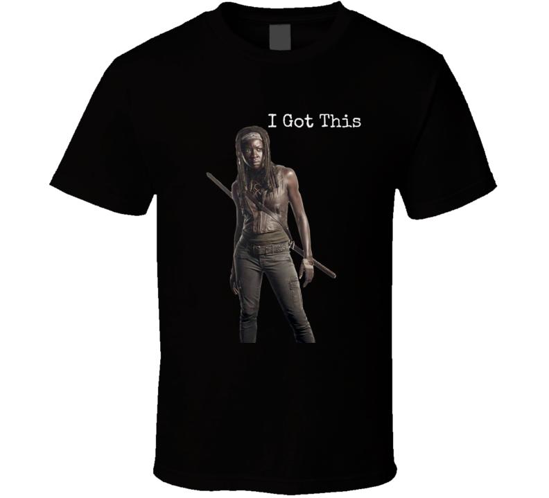 Michonne T-Shirt Walking Dead Novelty Clothing Danai Gurira Tee Shirt New