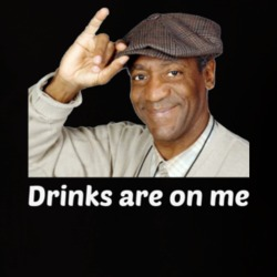 c2845bdb58 12259333 Bill Cosby Drinks Are On Me T-Shirt Unisex Novelty Party Funny  Clothing ...