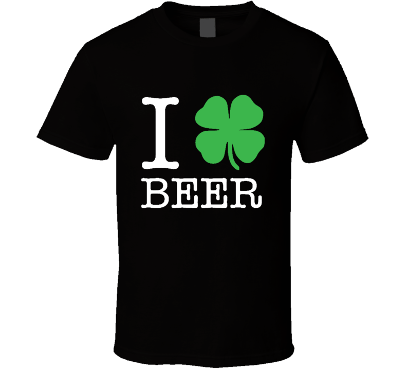 I Love Beer Drinking St. Patrick's Day Paddy's T Shirt