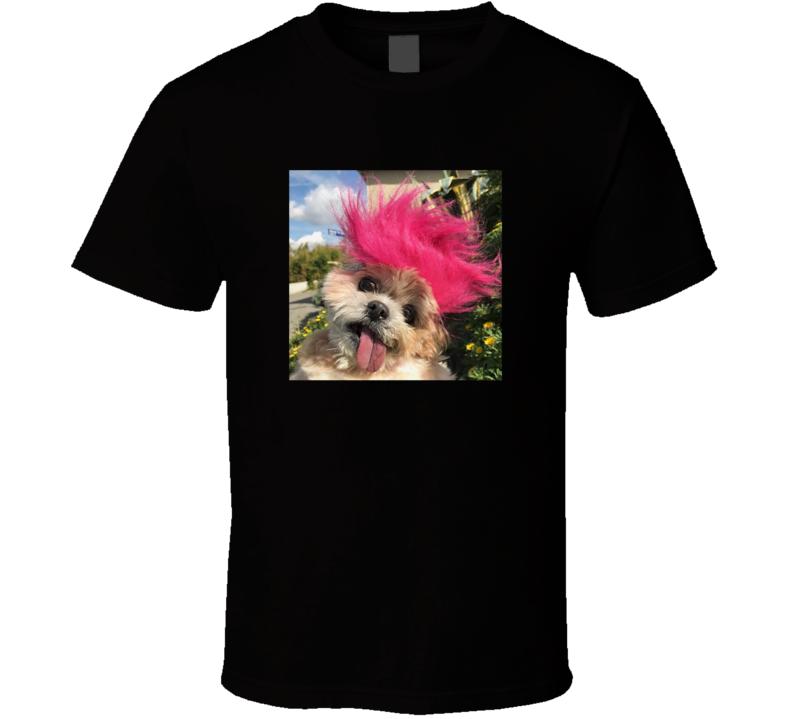 Marnie The Dog Cute Mohawk Instagram T Shirt