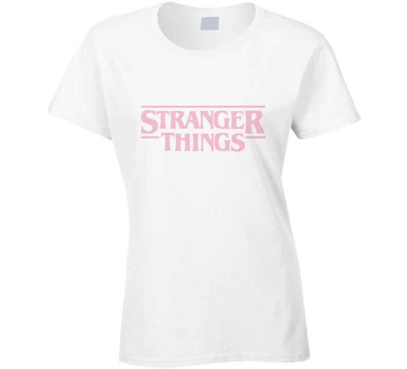 Stranger Things Netflix Logo Vintage TV Show T Shirt