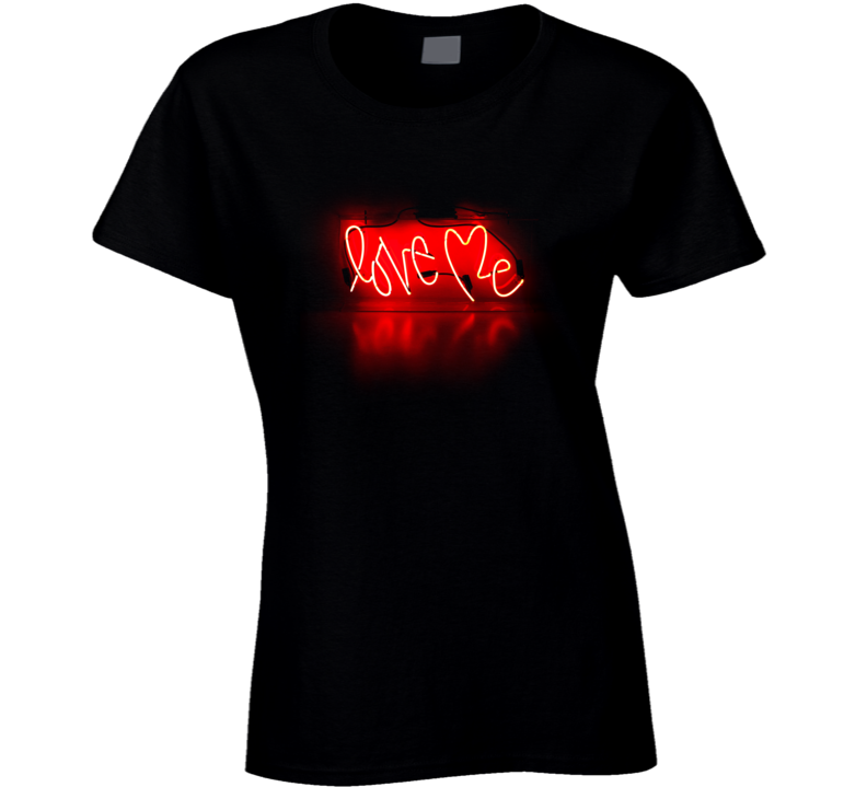 Love Me Tumblr Inspired Neon Lights 1975 T Shirt