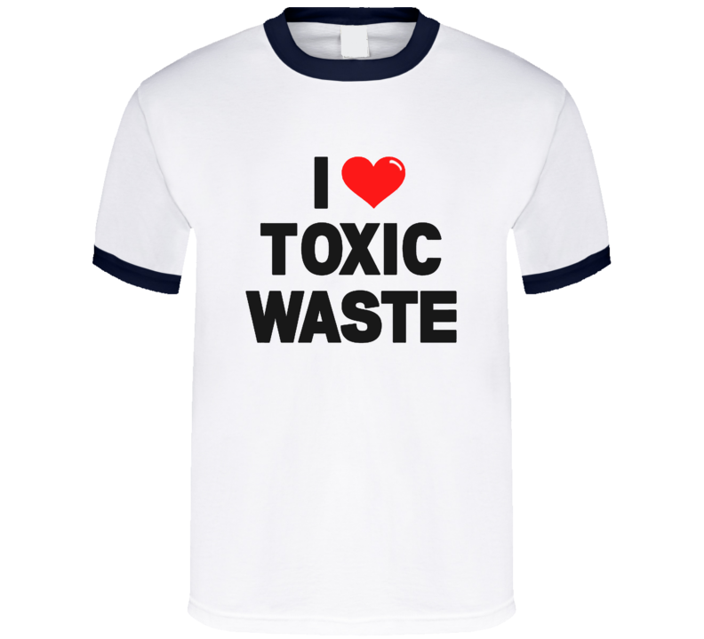 I Heart Toxic Waste Real Genius Chris Knight Movie Replica T Shirt