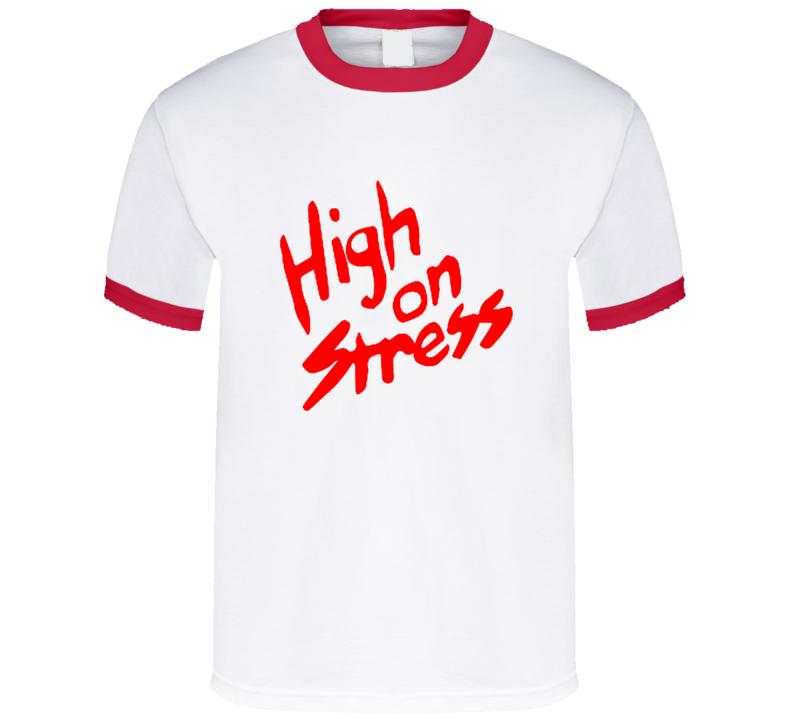 High On Stress Revenge of the Nerds Booger Movie Replica T Shirt