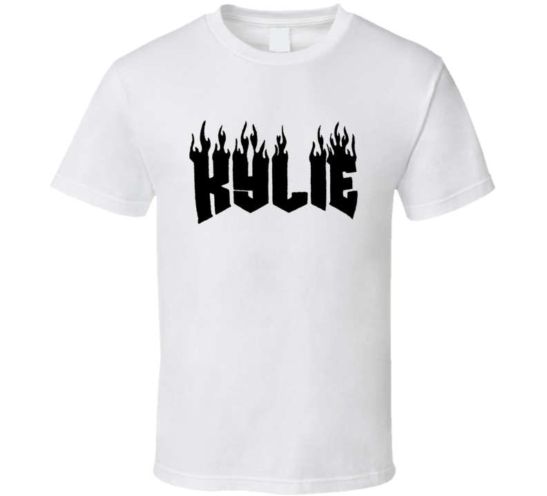 Kylie Jenner Fire Flame Trendy Instagram T Shirt