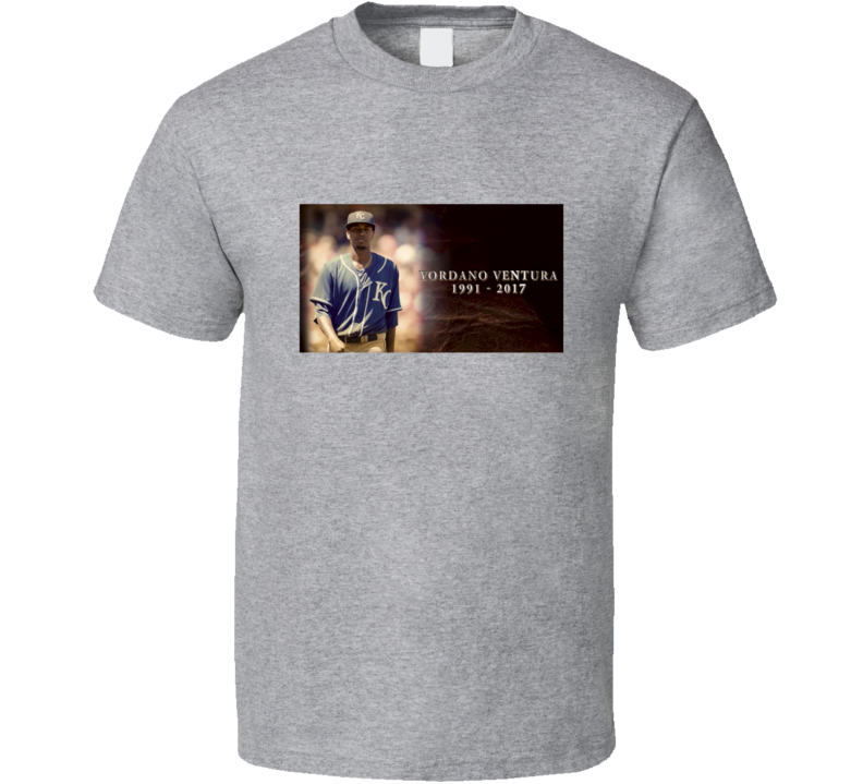 Vordano Ventura Baseball Pitcher Kansas City Royals RIP T Shirt